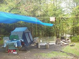 Tarp Extension for heat & How to Set Up a Tarp