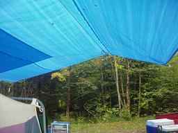 Tarp with extension